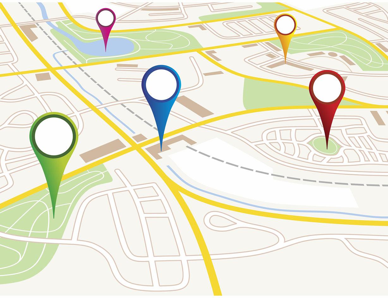 Mappa con markers