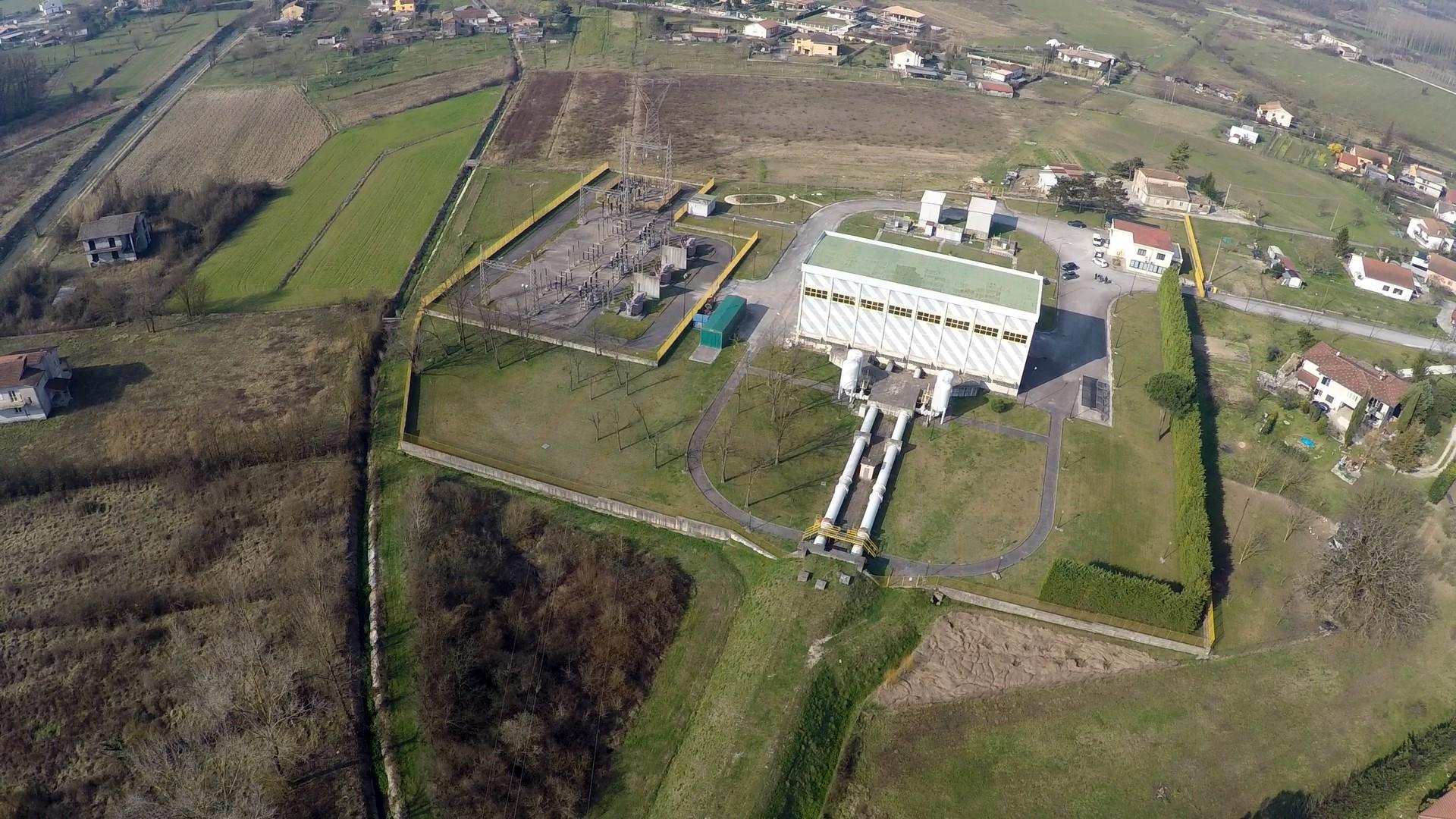 Centrale di Cassino - foto da drone - 2015