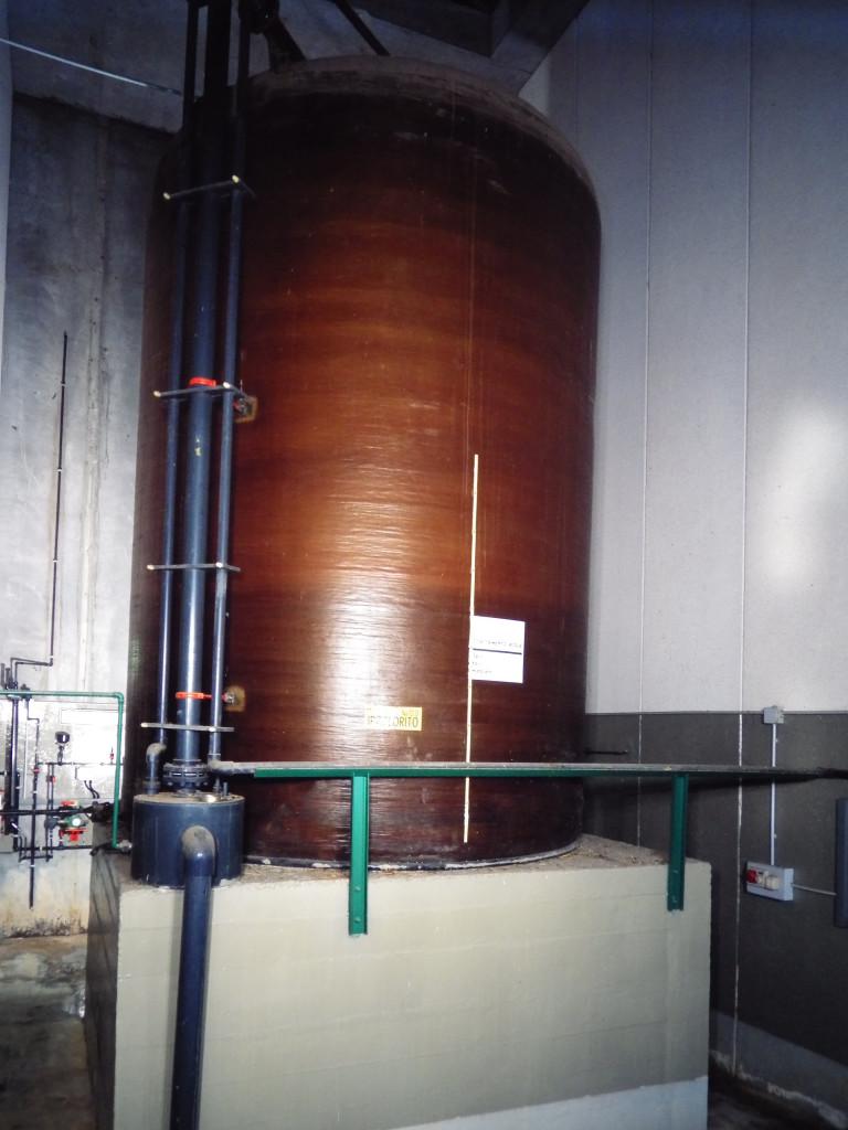 Impianto di clorazione