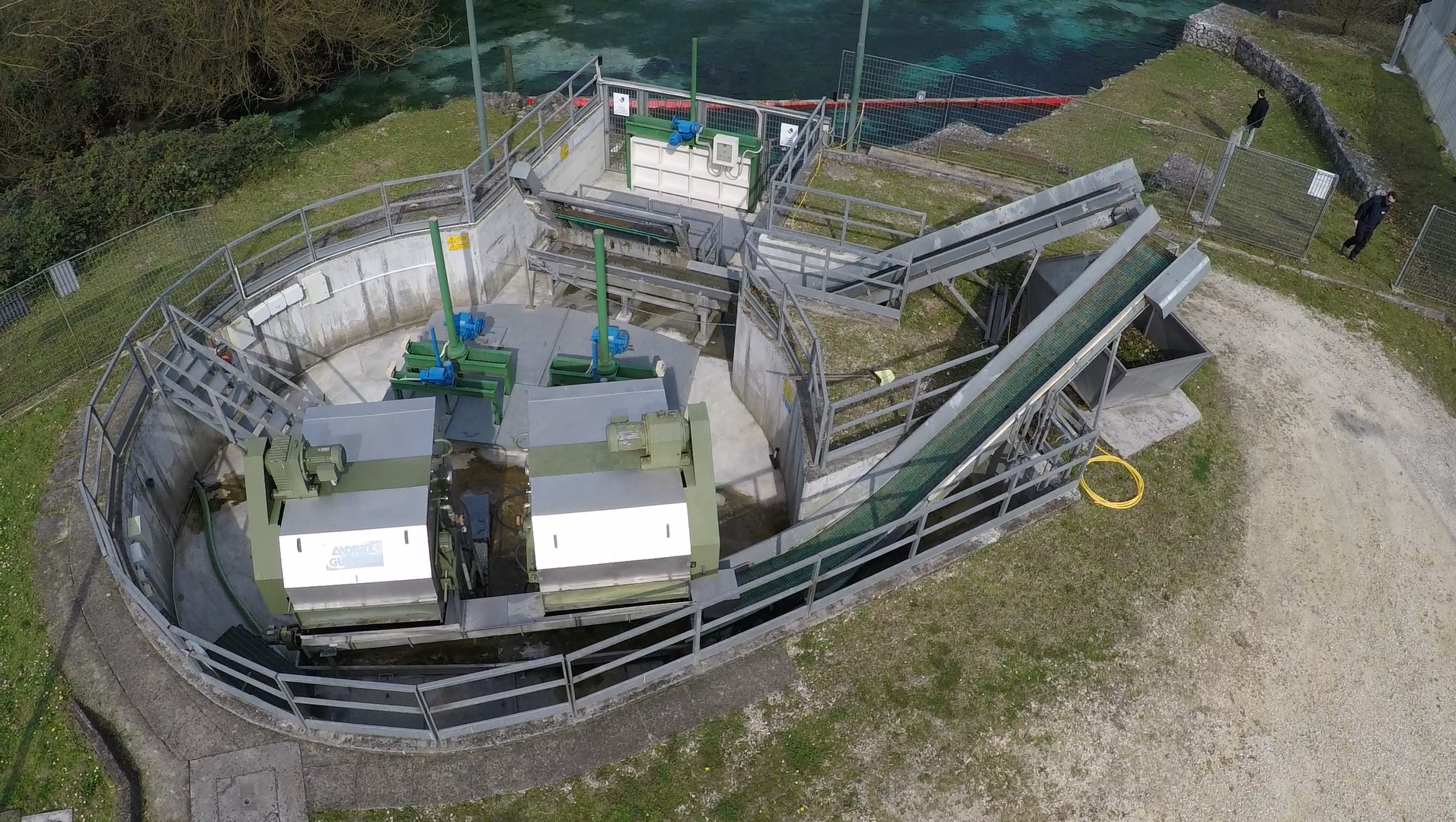 Opera di presa sul fiume Gari