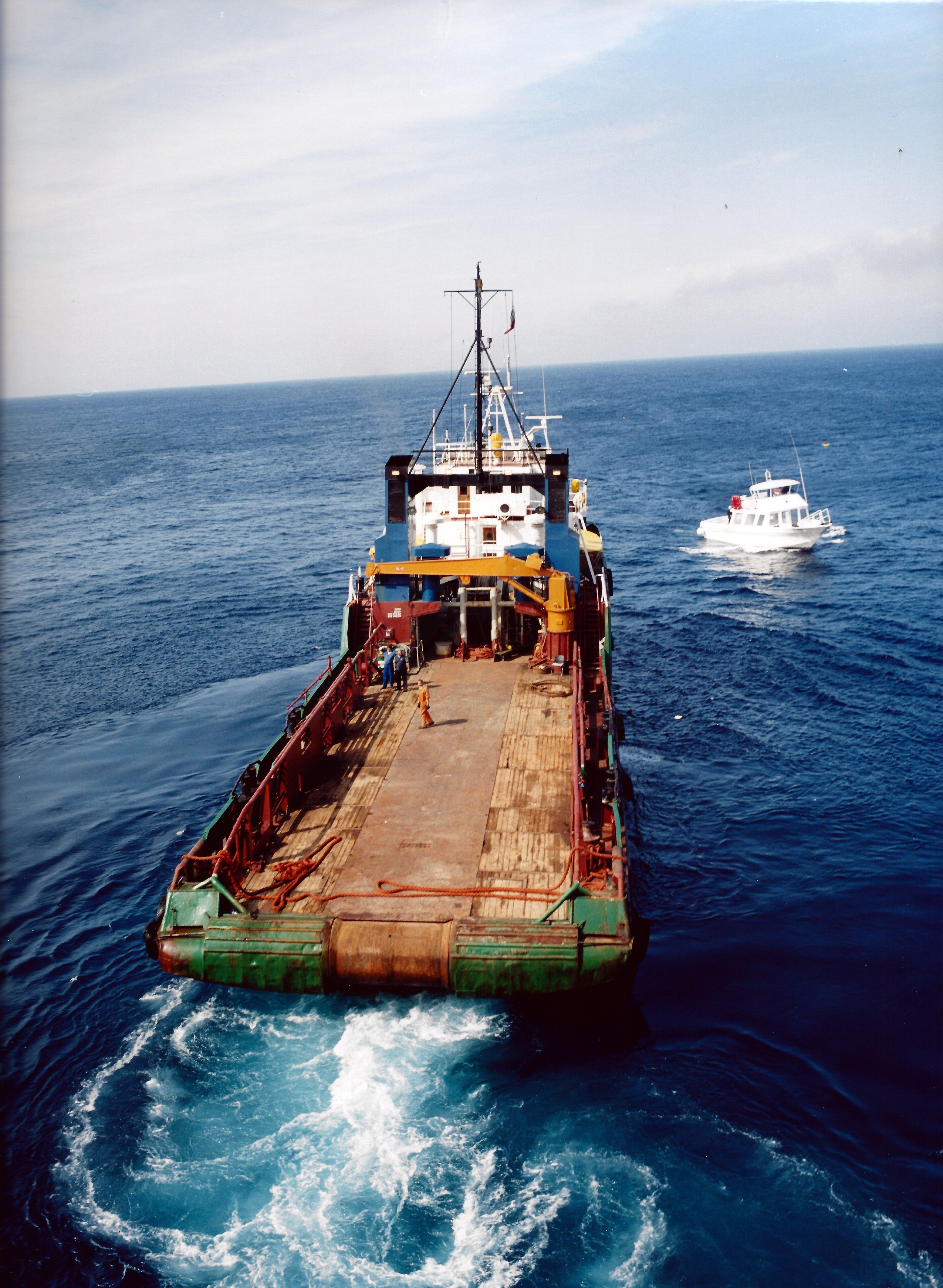 Archivio fotografico costruzione condotta sottomarina for Costruzione scantinato di scantinati