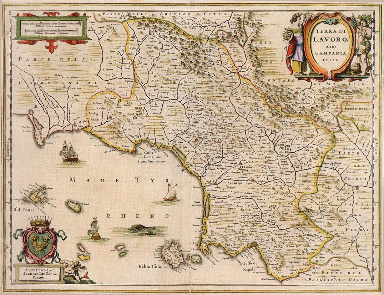 Cartina Fiumi Campania.Il Territorio Acqua Campania Spa