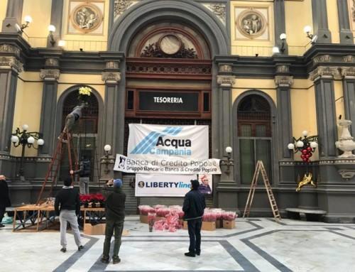 Pranzo di beneficenza della Vigilia di Natale in Galleria Principe di Napoli